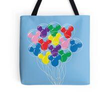 Mickey Balloons Tote Bag