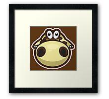 Hippopotas Framed Print