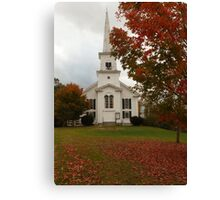 North Waterford Church  Canvas Print