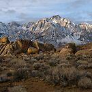 Lone Pine Peak at Sunrise by Rick Ferens