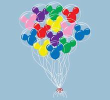 Mickey Balloons Unisex T-Shirt