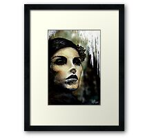 Lady Misfortune Framed Print