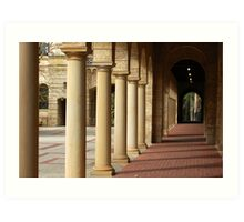 University of Western Australis -  Colonnade Art Print