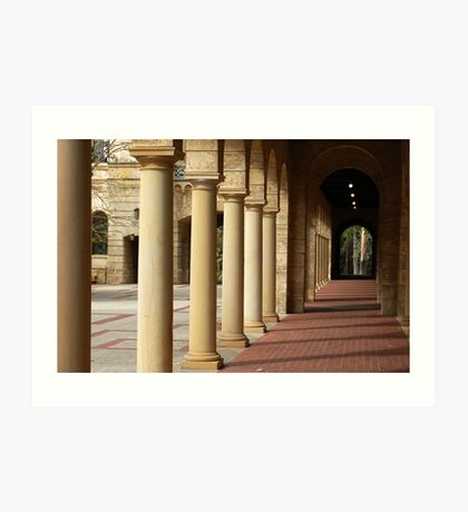 University of Western Australis -  Colonnade Art Print