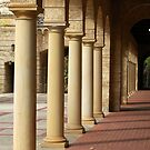 University of Western Australis -  Colonnade by Eve Parry