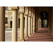 University of Western Australis -  Colonnade Photographic Print