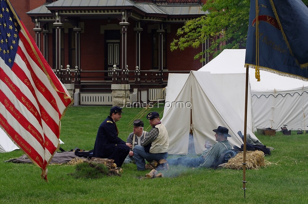 Union Camp  by James Formo