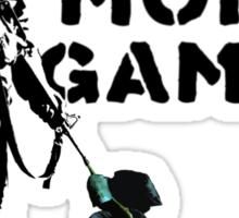No More Games Sticker