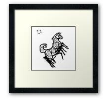DoubleZodiac - Cancer Dog Framed Print