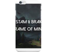 Frame Of Mind Tristam iPhone Case/Skin