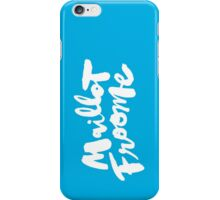 Maillot Froome : Sky Blue iPhone Case/Skin