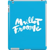 Maillot Froome : Sky Blue iPad Case/Skin
