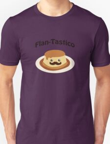 Cute and funny Flan-tastico! T-Shirt