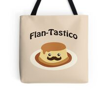 Cute and funny Flan-tastico! Tote Bag