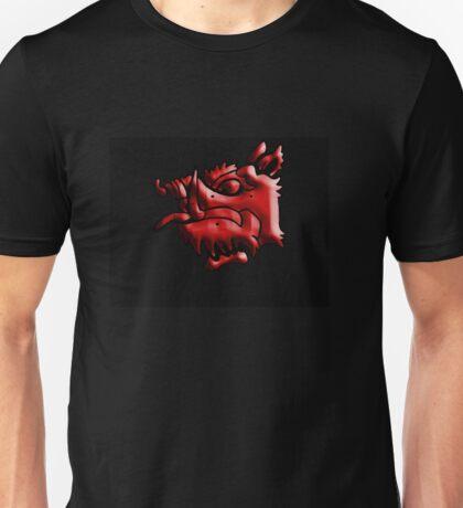Tis but a scratch! red boar Unisex T-Shirt