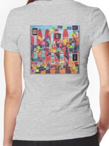 ETHOS - the Game - Reef2Beach Women's Fitted V-Neck T-Shirt