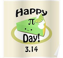 Cute Happy Pi Day! Poster
