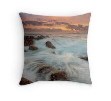 Smiths Beach Last Light II Throw Pillow