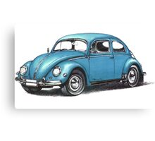 1957 Volkswagen Beetle Canvas Print
