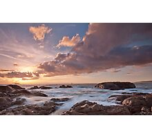 Dusk at Smiths Beach. Photographic Print