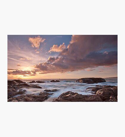 Dusk at Smiths Beach. Photographic Print