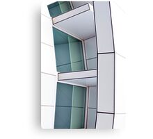 Tilted Blocks Canvas Print