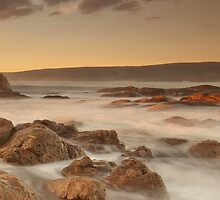 Smiths Beach last light by Jonathan Stacey