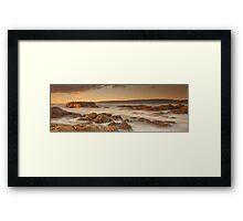 Smiths Beach last light Framed Print
