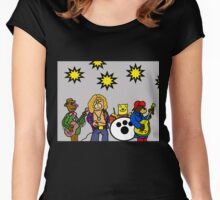 Ted Zeppelin Women's Fitted Scoop T-Shirt