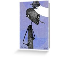 Swept Up Greeting Card