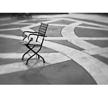 Morning Chair Photographic Print