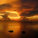 Sunset on Koh Tao by Dive Seven .