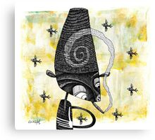 Ashead's Been Smoking Canvas Print