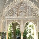 Archway in the Alhambra by Lyn Fabian