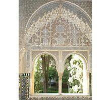 Archway in the Alhambra Photographic Print