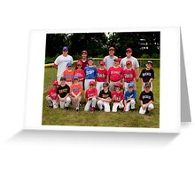 2010 National League Little League All Stars Greeting Card