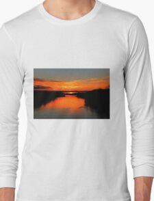Sunrise on the Assiniboine Long Sleeve T-Shirt