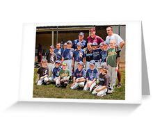 2010 American League Little League All Stars Greeting Card