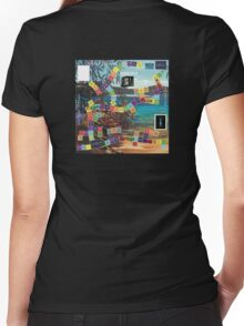 ETHOS - the game - LARCing on Women's Fitted V-Neck T-Shirt
