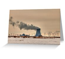 Industrialscape Greeting Card