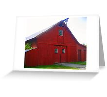 Awesome Barn in Voluntown, CT Greeting Card
