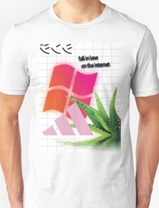 Fall In Love On The Internet Aesthetic T-Shirt