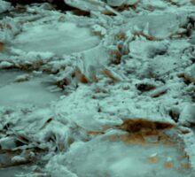 Crater Ice Sticker