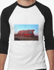 Abandoned Old Red Men's Baseball ¾ T-Shirt