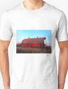 Abandoned Old Red Unisex T-Shirt