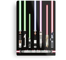 Star Wars Lightsaber Metal Print