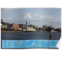 Newcastle Harbour - Australia Poster