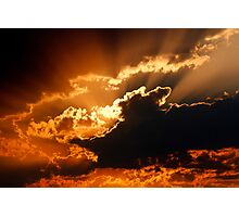 Sunset Spectacle Photographic Print