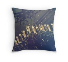 Dining in the Dark Throw Pillow