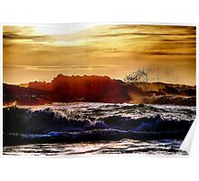 Another Pescadero Sunset Poster
